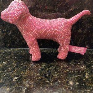 Pink bling Victoria's Secret dog